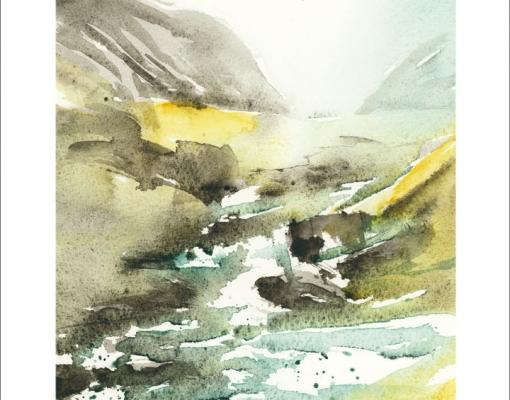 Kunstkort A5 Bøvertun II