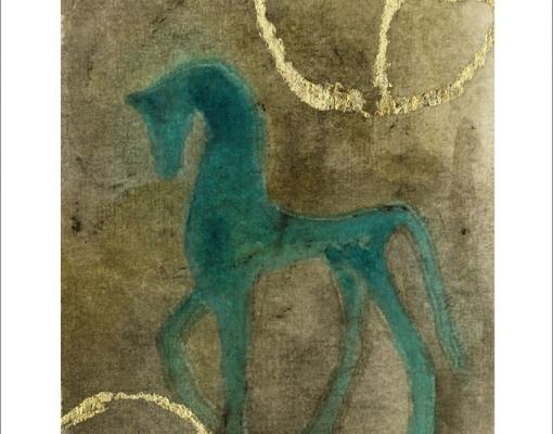 Kunstkort A5 Tidens Tegn II