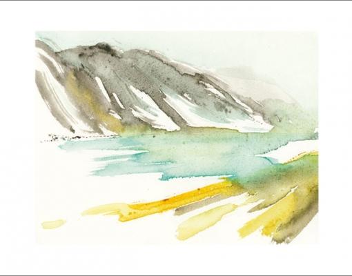Kunstkort A6 Bøvertun I