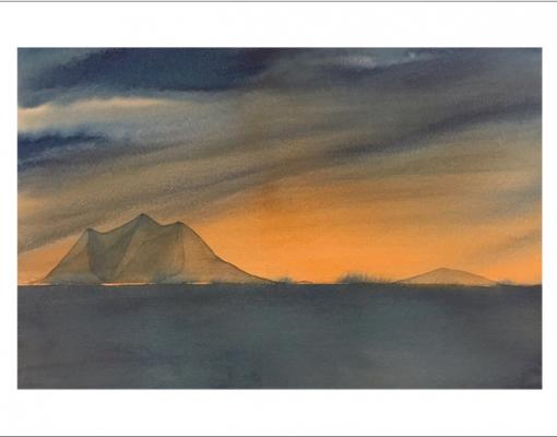 Kunstkort A6 Arctic Winter Dream II
