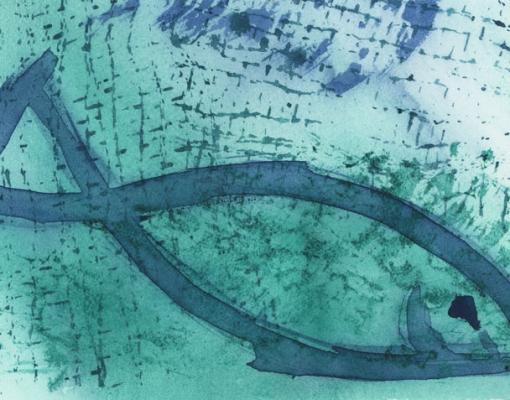 Akvarel Skrei V