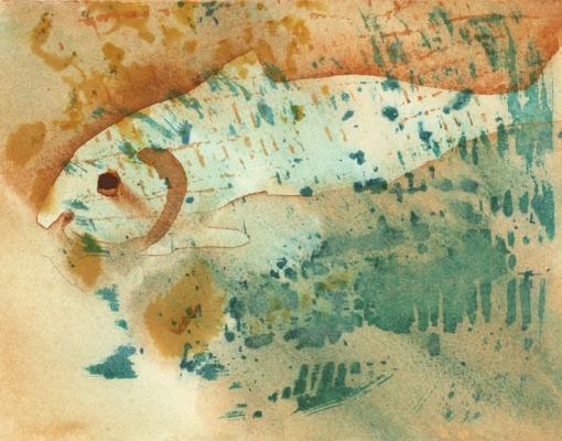 Akvarel Skrei III