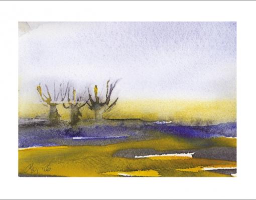 Kunstkort A6 Fynsk Forår